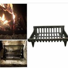 Large Fireplace Cast Iron Grate Floor Heating Fire Log Heater 27 inch New