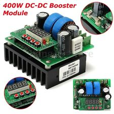 DC 400W 6-40V to 8v-80v 10A Boost Converter Step Up Module Buck Power Supply
