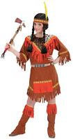 INDIEN Costume Guerrier pour fille NEUF - fille carnaval déguisement