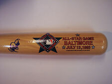 KIRBY PUCKETT SIGNED 1993 ALL-STAR GAME COOPERSTOWN COMPANY BAT (MVP) JSA LETTER