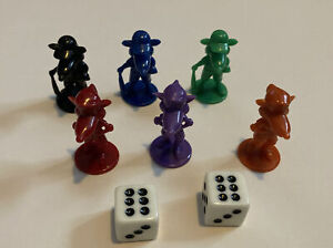 Cashflow For Kids Replacement Movers Pawns Dice Game Pieces Parts 2002 Pawn
