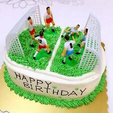 8Pcs/set Soccer Cake Topper Decoration Tool Birthday Party Cake Decorating Mold