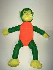 Goffa Green Orange And Yellow Monkey NEW  16' Plush Stuffed Animal