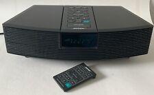 New listing Bose Wave Radio Awr131 Am/Fm Alarm Clock Aux Input W/Remote Tested Working