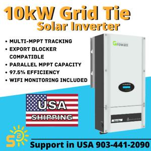 10kW UL1741 Grid-Tie String Inverter with WiFi 10000 Watt 240V