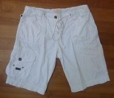 85524c1166ec °Street One° Short Gr.36 Sommerhose weiß Baumwolle kurze Hose Bermuda