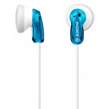 Sony  In-Ear Earbud Earphone Headphones for MP3 Player iPod iPhone Blue MDRE9-LZ