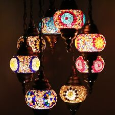 Mosaik Lampe Deckenlampe Orientalische Lampe Türkei Mosaik 8 Kugeln