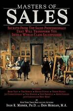 Masters of Sales : Secrets from Top Sales Professionals That Will-ExLibrary