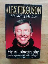 Alex Ferguson signed book Managing My Life Manchester United Man Utd 1st ed (hb)