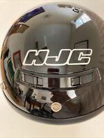 HJC Helmet CL-5 In Black, Snell Approved DOT Size Medium