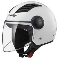 Casco LS2 Helmet Airflow OF562 - Bianco Gloss
