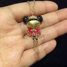 Swarovski Swan signed  susan doll crystal  necklace