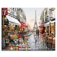 EDUCATIONAL 1000 PIECE JIGSAW PUZZLES PARIS FLOWER STREET KIDS ADULTS PUZZLE TOY