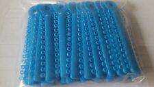 NEW 10 Pack Dental Orthodontics Elastic Elastomeric Ligature Ties Brace Blue