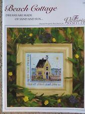 10% Off Victoria Sampler X-stitch Chart/Pattern - Beach Cottage