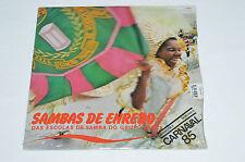 SAMBAS DE ENREDO Das Escolas de Samba Do Grupo 1A LP Brazil Carnaval 85 NEW SEAL