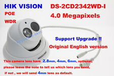 Hikvision Original English DS-2CD2342WD-I 4MP security IP Network Dome Camera