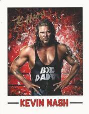 Kevin Nash - Wrestling star signed photo