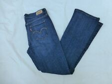 WOMENS LEVIS BOOTCUT JEANS SIZE 29x31 #W1243