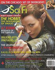 FEB 2014 SCIFI movie television magazine THE HOBBIT - 47 RONIN - DIVERGENT