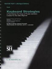 Master Text I - Abridged Edition: Piano Technique, , Good Book
