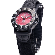 Smith & Wesson Fire Fighter Watch - Back Glow, Nylon Strap - SWW-455F