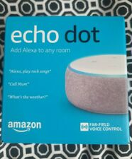 Amazon Echo Dot 3rd Generation Smart Speaker with Alexa - Plum Fabric