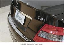 MERCEDES W204 C Classe Cromato BUMPER PROTECTOR C180 C200 C220 C250 C320 C350 C63