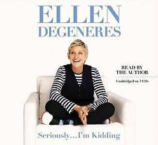 Seriously I'm Kidding by Ellen DeGeneres (Hardback) SIGNED Autographed COA Rare!