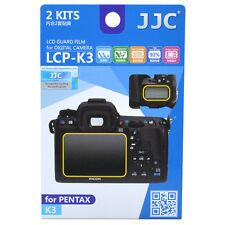 JJC LCP-K3 LCD Guard Film Camera Screen Display Protector for PENTAX K3 DSLR