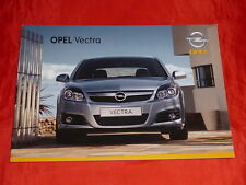 Opel Vectra C base Edition sport Cosmo folleto de enero de 2007