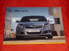 OPEL Vectra C Basis Edition Sport Cosmo Prospekt von Januar 2007
