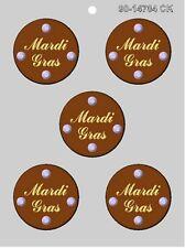 MARDI GRAS MEDALLION FAT TUESDAY CHOCOLATE CANDY MOLD DIY MARDI GRAS FAVORS