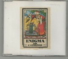 enigma - age of loneliness   cd single  rare