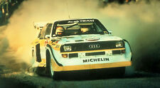 Audi Quattro E2 Rally Car XXL Over 1 Meter Wide 1 Piece Glossy Poster Art Print!