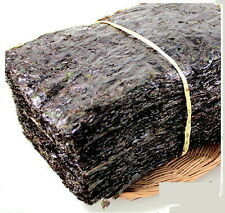 20 PCS Traditional Seaweed Sushi kimbab Nori Laver Green Weed Sheets Roll Marine