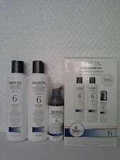 NIOXIN HAIR SYSTEM KIT 6 NOTICEABLY THINNING ( FOR MEDIUM TO COARSE HAIR)