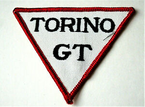 Rare Vintage Ford Torino GT Muscle Car Cloth Patch New NOS 1960s