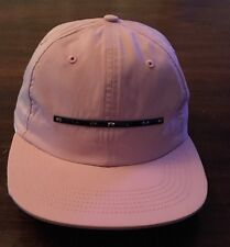 NEW! Supreme Chrome Stripe 6-Panel Hat (Pink Cap) WEEK 19 SHIPS FAST SS17