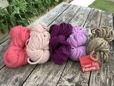 250g 5 Balls Of DEBBIE BLISS PALOMA PERUVIAN WOOL Alpaca Mix Of Colours Soft