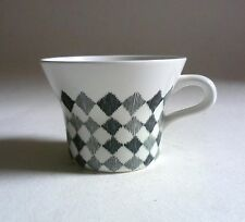 RORSTRAND Sweden RED TOP CUP 1950s Vintage Scandinavian Pottery Marianne Westman