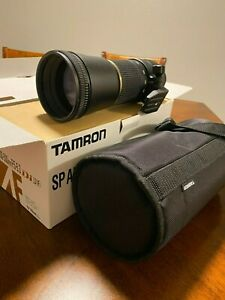 Tamron SP AF 200-500mm F/5-6.3 Di LD(IF) Lens for Nikon, A08N, Never Been Used