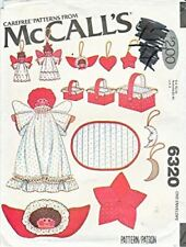 McCall's Carefree Pattern 6320 Christmas Decorations Super Pack