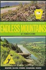 1971 Guidebook + Map Bradford Sullivan Wyoming Susquehanna Counties Pennsylvania