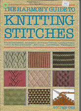 """""""The Harmony Guide to Knitting Stitches"""" - Hundreds of Different Stitches"""
