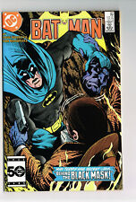 BATMAN #387 DC COMICS 1985 NM OB PART 2 INTRO BLACK MASK COPPER AGE