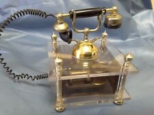 "Westland Music Box Vintage Telephone ""I Believe in Yesterday "" Japan Tagged"