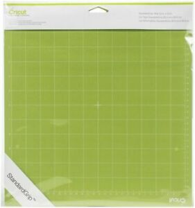 "CRICUT 2001974 StandardGrip 12"" x 12"" Adhesive Cutting Mat, 2 Per Pack"