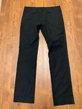 Diesel Size 30x32 Mens Black Straight Pants